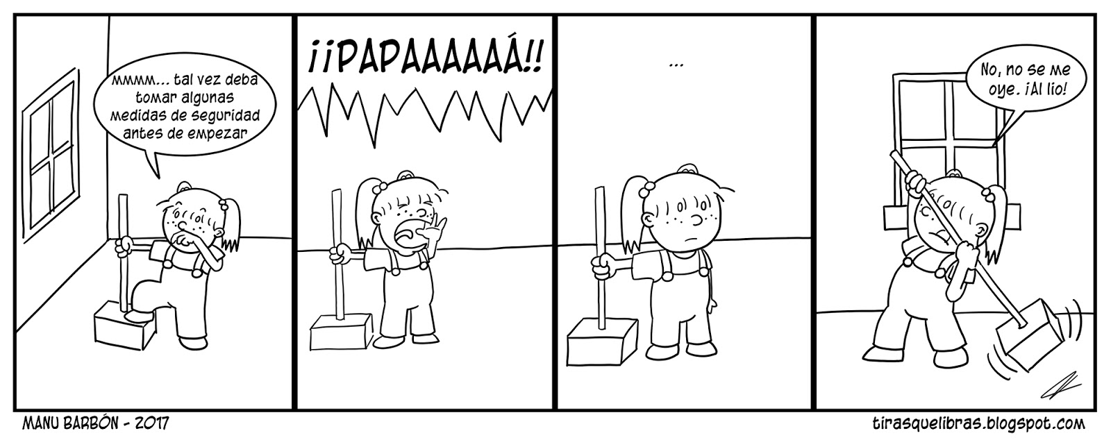 webcomic, jen comprueba la seguridad