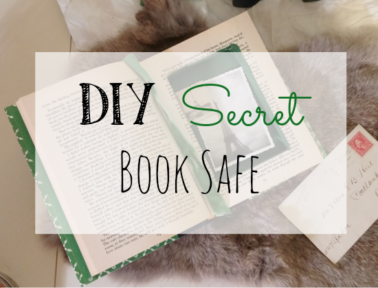 How to make a secret safe from an old book!