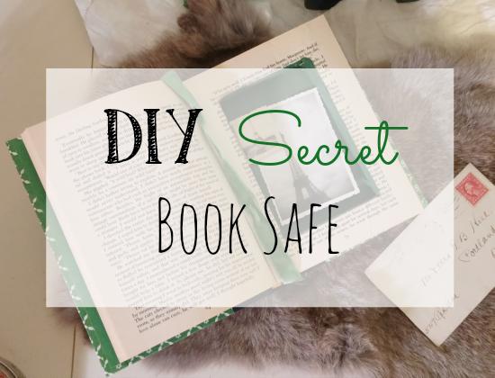 Diy Secret Book Safe Little Vintage Cottage