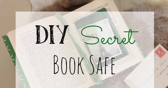 DIY Secret Book Safe - Little Vintage Cottage