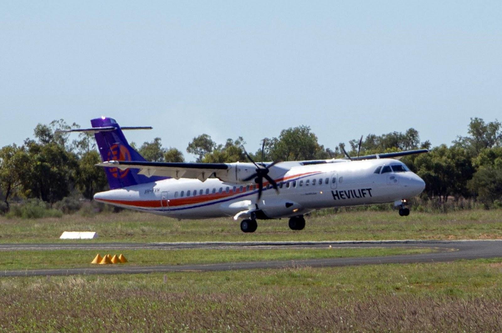 Central Queensland Plane Spotting: Hevilift Australia (Fixed