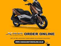 Yamaha Kembali Buka XMAX Order Inden Online
