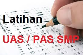 Soal UAS MTS Kelas 7 Semester 1 Kurikulum 2013 Tahun 2018/2019