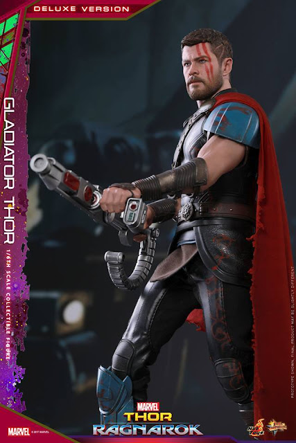 Thor 1/6 Gladiator Deluxe Version de Thor Ragnarok - Hot Toys