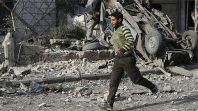 ဆီးရီးယားမွာ ေလေၾကာင္း တိုက္ခိုက္လို႔ ၅၀ဝ ေက်ာ္ ေသဆုံး