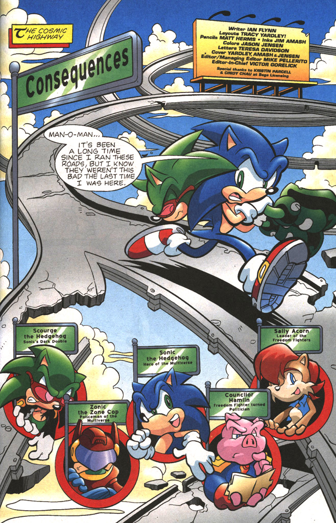 Read online Sonic The Hedgehog comic -  Issue #197 - 3