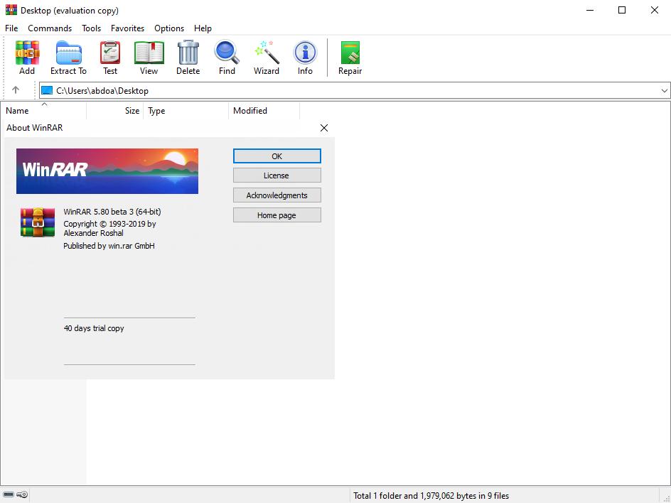 WinRAR 5.80 Beta 3