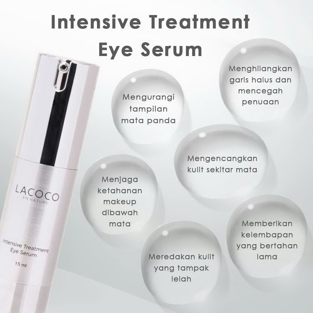 Manfaat Dan Cara Pakai Lacoco Intensive Treatment Eye Serum Nasa Vitamin C