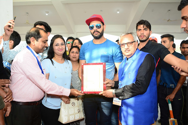 Yuvraj Singh at the event