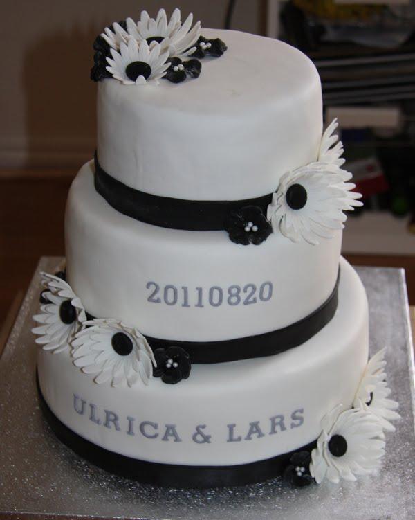 tårta 40 år Susannes Tårtblogg: Bröllopstårta/40 års tårta tårta 40 år