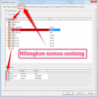 Cara flash file PAC dengan research download