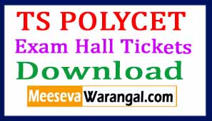 TS POLYCET Exam Hall Tickets Download 2017
