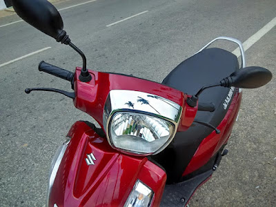 Suzuki Access 125 Red Colour