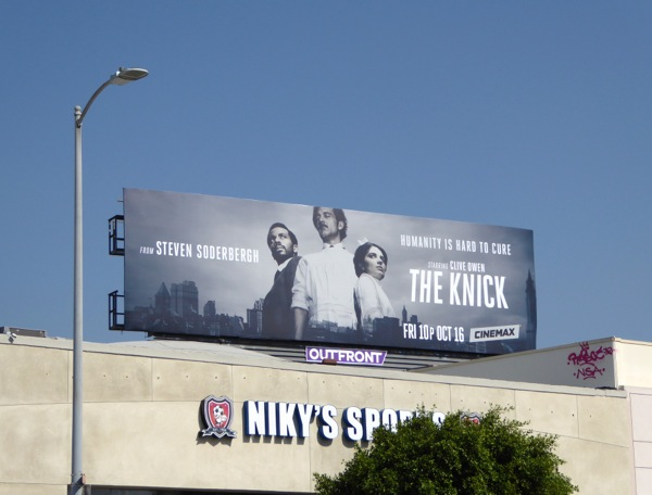 The Knick season 2 billboard