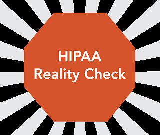 HIPAA compliant, HIPAA reality check