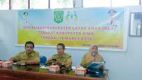 <b>DP3AP2KB Gandeng Bappeda Kabupaten Bima Sosialisasi Kabupaten Layak Anak</b>