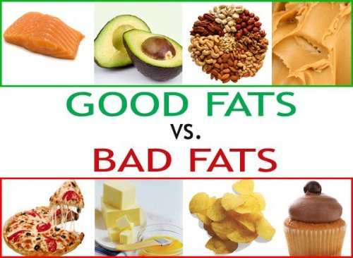 good fat, bad fat, cholesterol