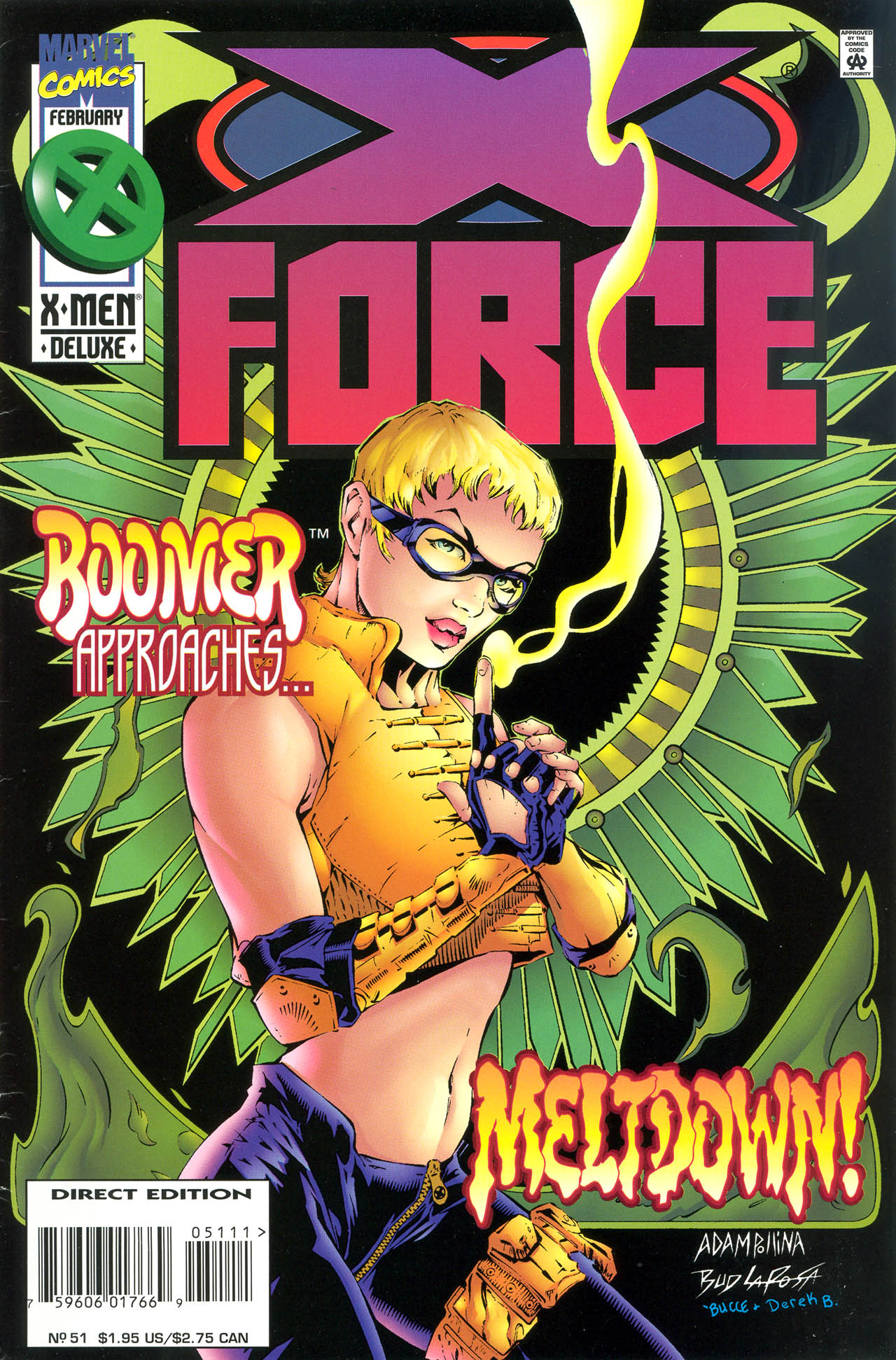 Read online X-Force (1991) comic -  Issue #51 - 1