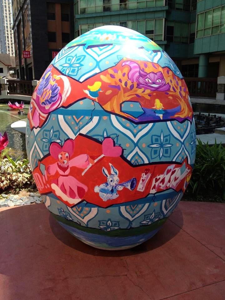 Giant Easter Eggs in Eastwood
