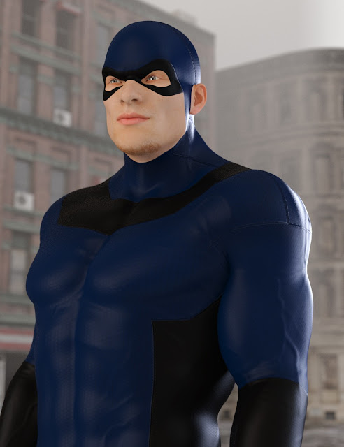 No Suit Morphs for Genesis 3 Male