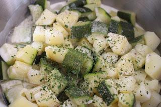 hachis parmentier aux courgettes et tofu haché veggie