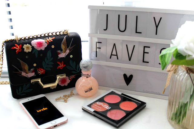 Monthly Favourites July Subject Beauty