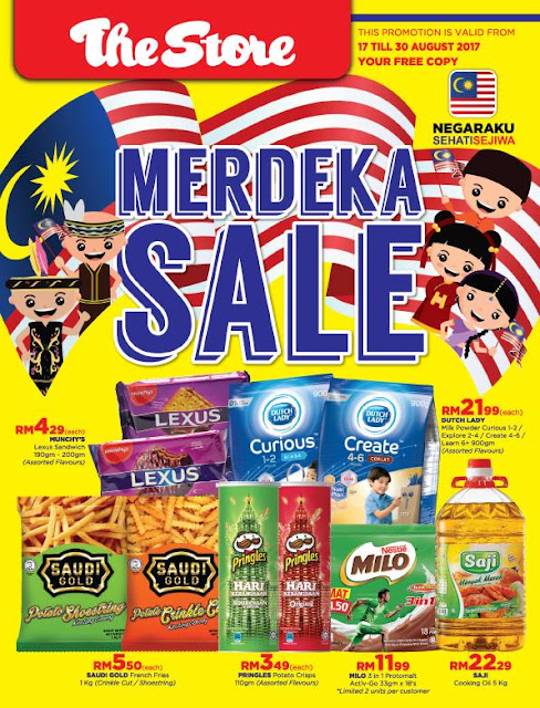 The Store Malaysia Catalogue Merdeka Sale Discount Offer Promo