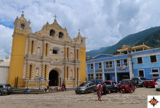 Zunil, chiesa
