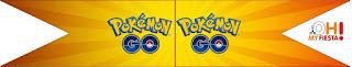 Pokemon Go:Banderitas o toppers para cupcakes o para poner en la comida