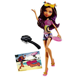 MH Gloom Beach Clawdeen Wolf Doll