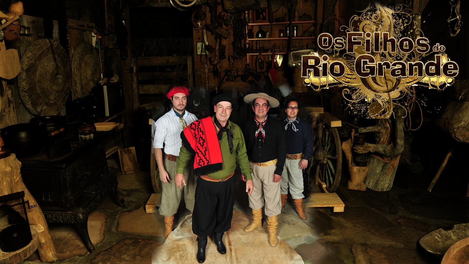 Recanto Das Gaitas Biografia  Os Filhos do Rio Grande