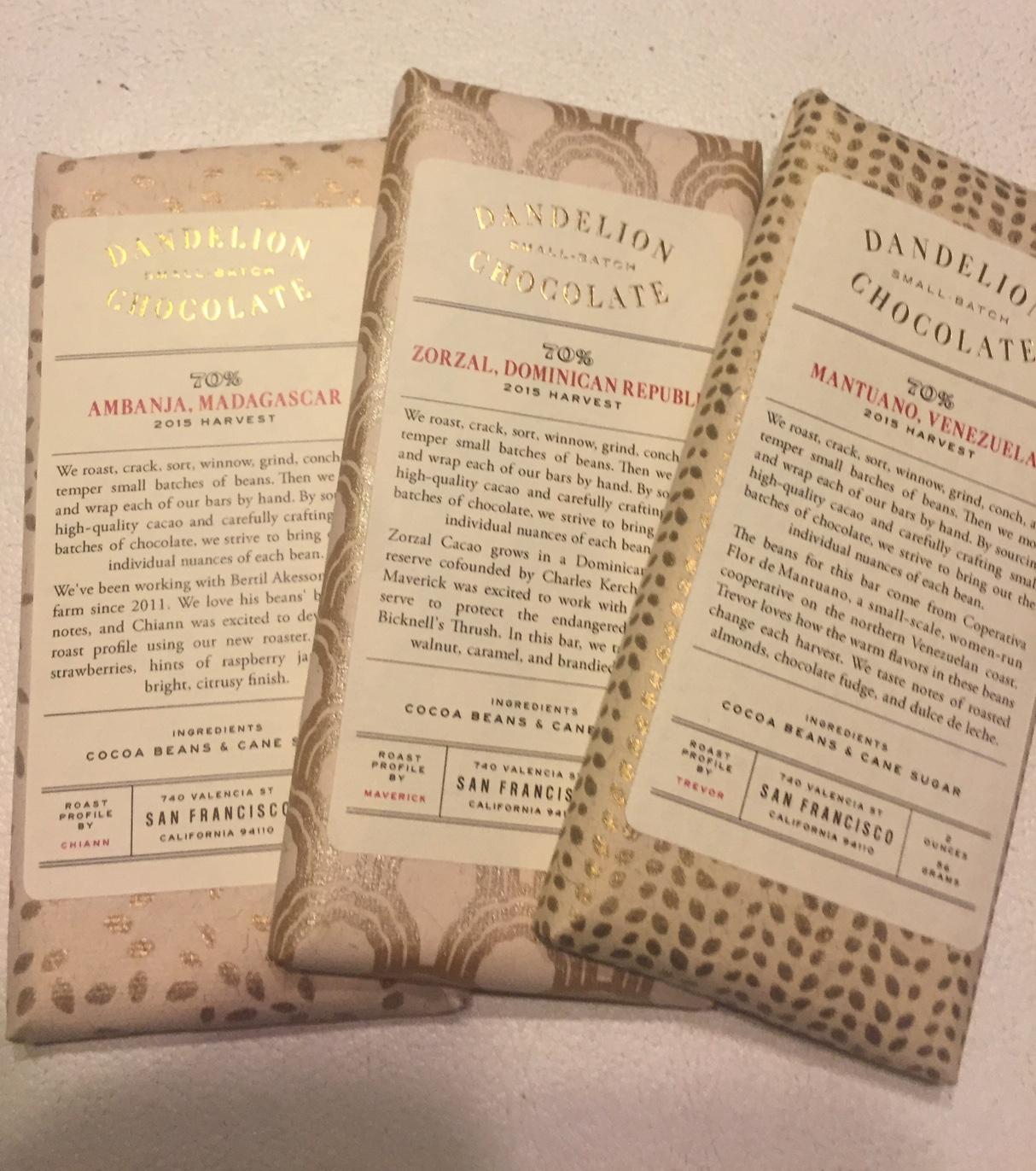 Sku's Recent Eats: Dandelion Chocolate