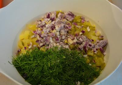 sałatka kartoflana