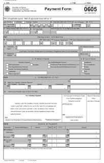Green national savings certificate book