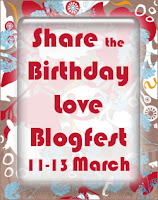 Share the Birthday Love Blogfest: Do girls want to read books with a male protagonist?