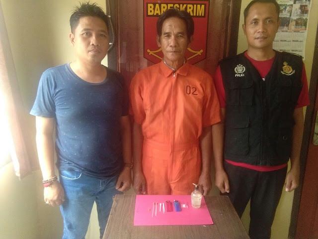 Edarkan Narkoba, Nasir Diringkus Polsek Makarti Jaya
