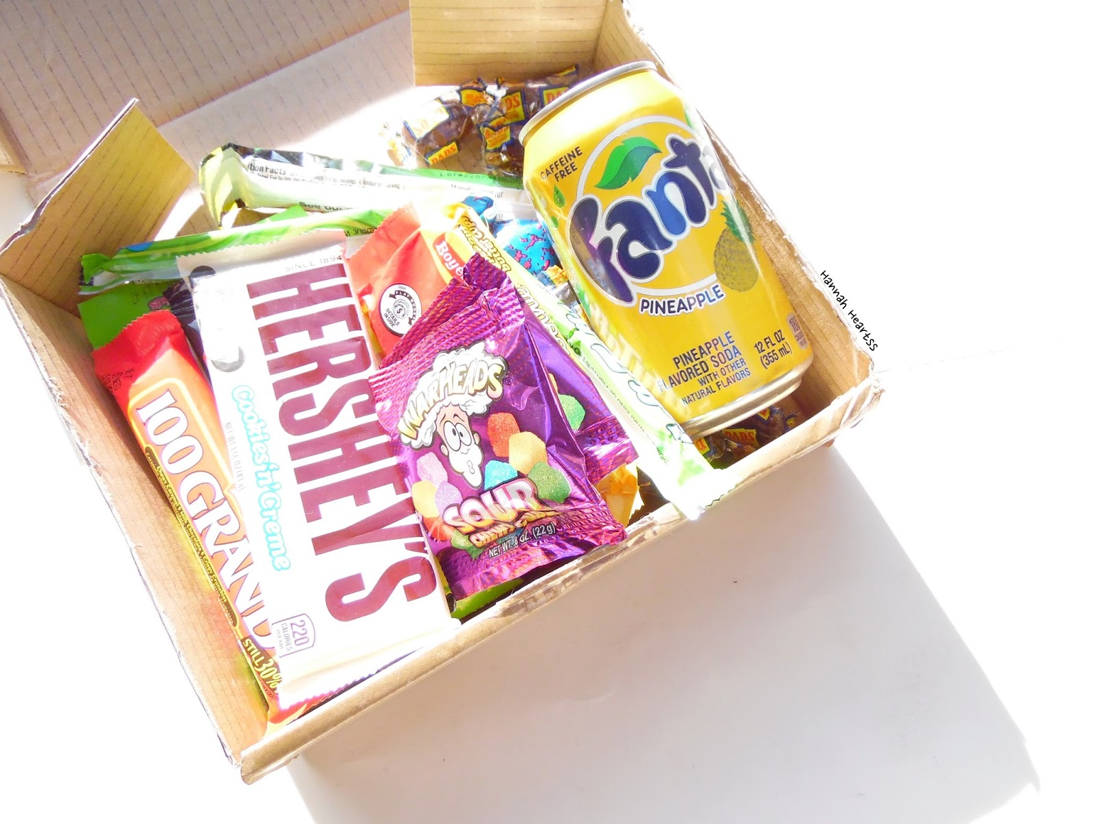 Taffymail September 2015 Box