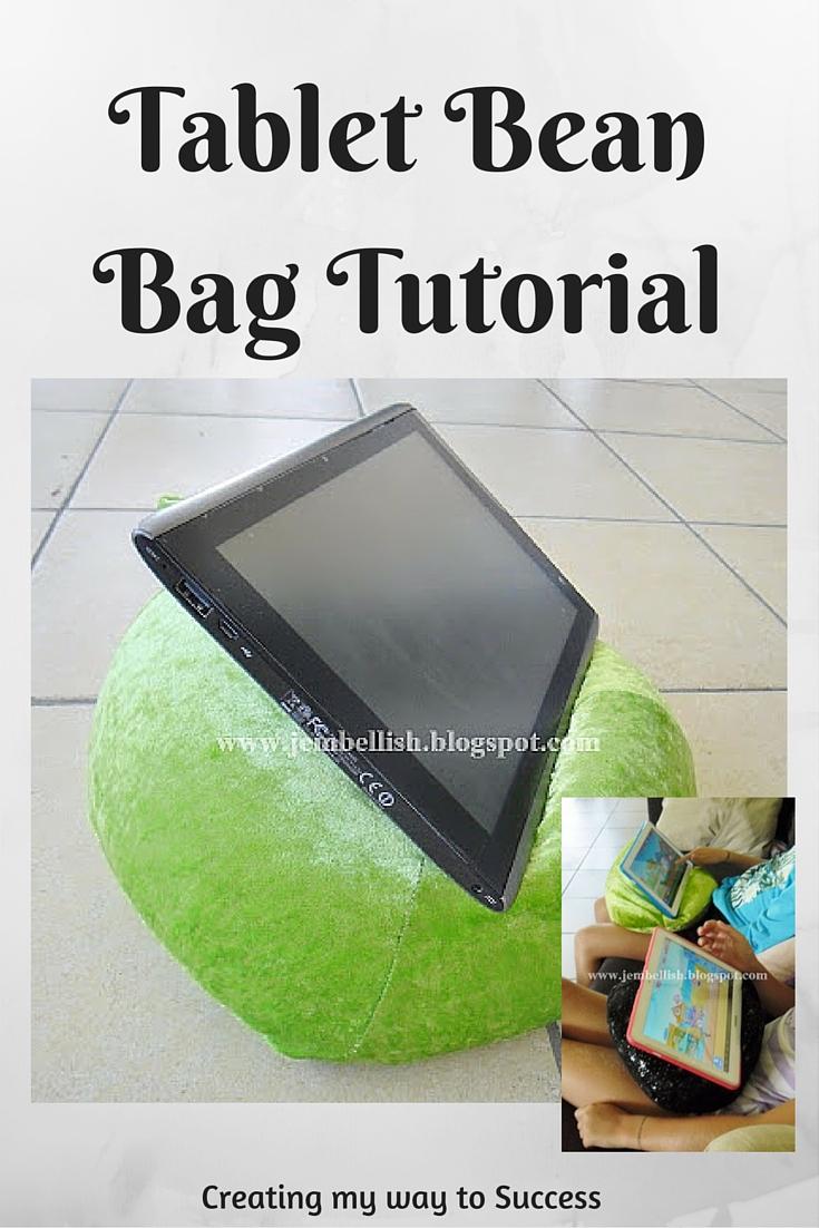 tablet bean bag tutorial