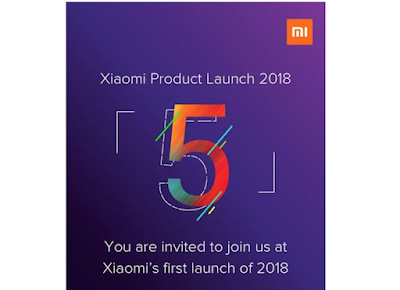Xiaomi to launch Redmi 5 Series smartphone in India on 14th February