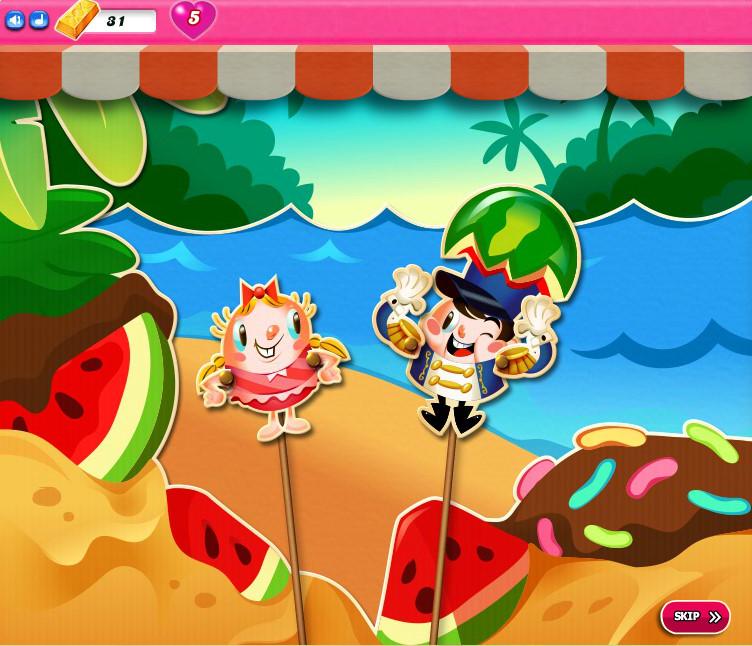 Candy Crush Saga level 2511-2525