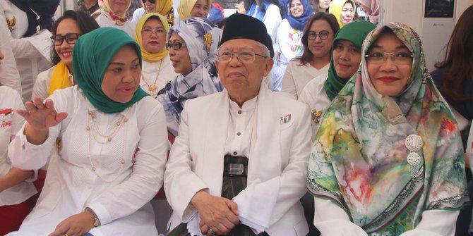 Ma'ruf Amin Sebut Jawa Barat, DKI dan Banten Tempatnya Hoax