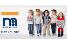 Mothercare Baby Products (Shoes, Clothing & More ) Flat 40% OFF amazon