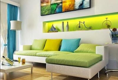 kelebihan ruang tamu bergaya minimalis