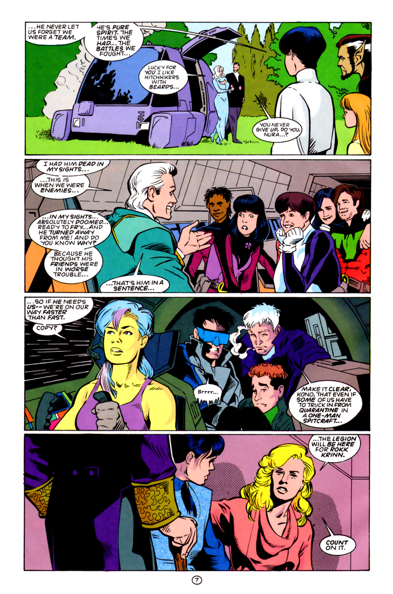 Legion of Super-Heroes (1989) 60 Page 7