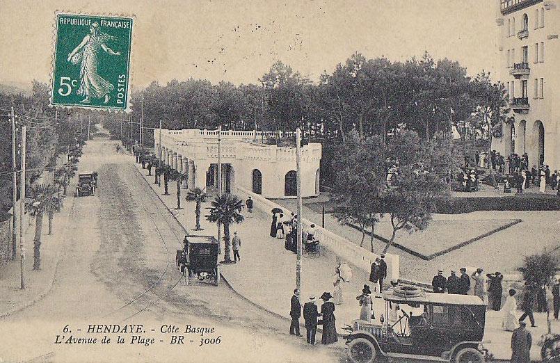Pays basque 1900 - Biarritz to st jean pied de port transport ...