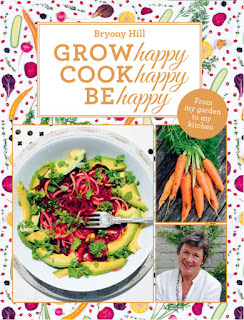 Front cover of Grow Happy, by Bryony Hill