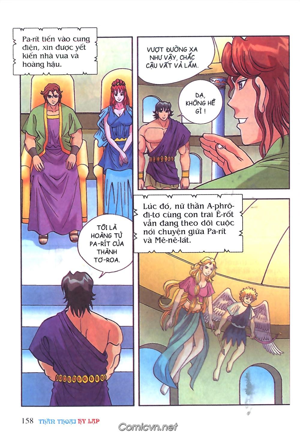 Thần Thoại Hy Lạp Màu - Chapter 50: Hoàng tử Pa rít - Pic 36