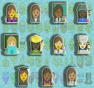 Google Promosikan Kesetaraan Wanita Melalui Emoji Baru dan Fitur Unik Untuk Membuat Emojimu Sendiri