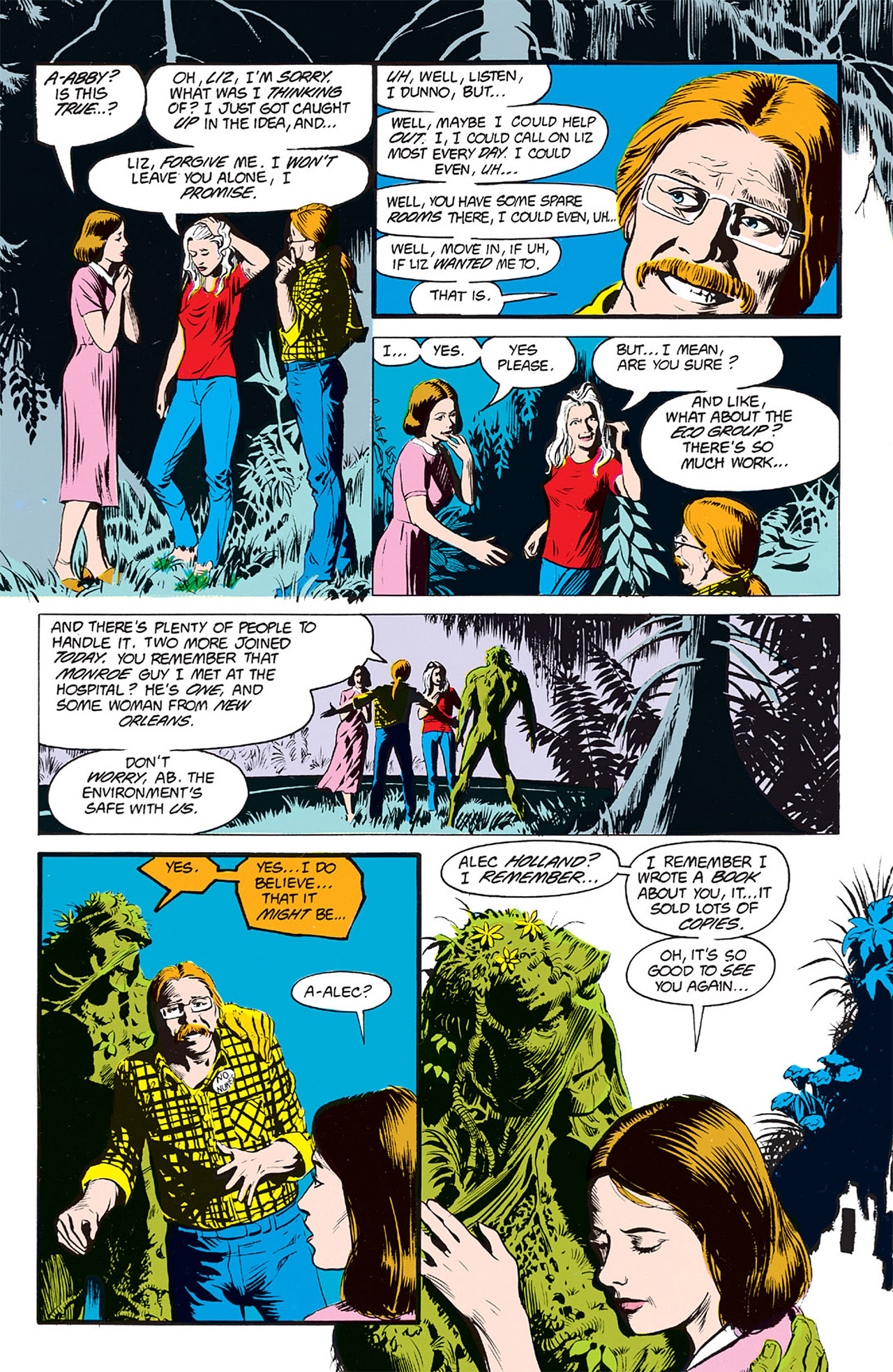 Swamp Thing (1982) Issue #64 #72 - English 22