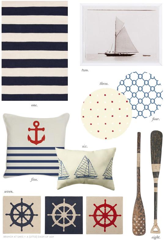 Nautical-Themed Home Decor | Interiors | B.A.S Blog